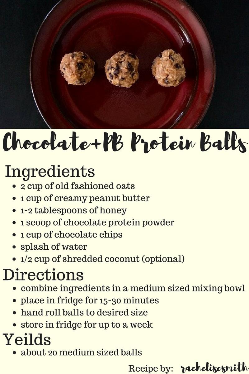 chocolate+PB+Peanut Butter+Balls+Recipe